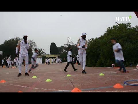 Video : Lancement de l'activité « Sport pour le Développement » (S4D) dans les écoles publiques