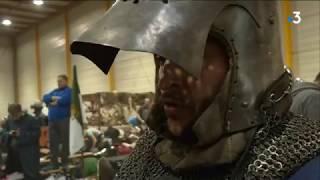 Ça fait mal : Laon, capitale du combat médiéval ce weekend