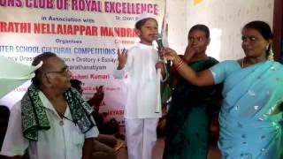 Tirupur Kumaran in Fancy Dress Competition
