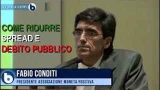 Convegno Senato 29 gennaio 2019 - Fabio Conditi - Come ridurre Spread e Debito