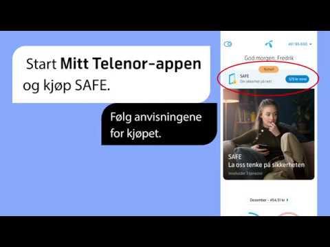 SAFE: Slik aktiverer du SAFE WiFi | Telenor Norge