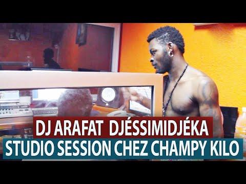 DJ ARAFAT  DJÉSSIMIDJÉKA STUDIO SESSION CHEZ CHAMPY KILO [VIDEO INTÉGRALE]