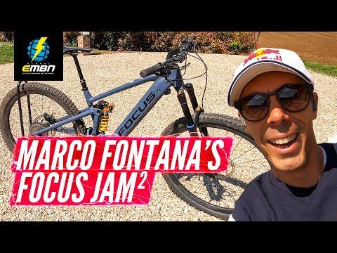 Marco Fontana's Focus Jam2 - The Olympians E-Bike | EMBN Pro Bike Check