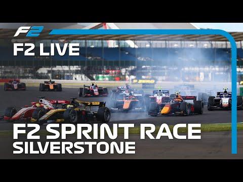 LIVE: Formel 2 Sprintrennen! | 2020 Silverstone Grand Prix