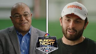 Baker Mayfield on passionate Cleveland fans, his motivation, new era of young QB's | NBC Sports