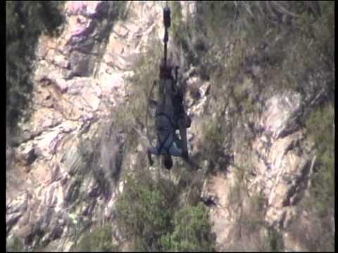 JL taking a backflip bungee jump on 214m blaukrans bridge, south-africa