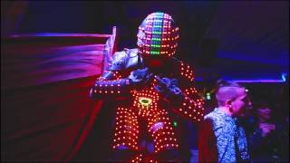 The Unique Led DJ Robot in Macedonia width=