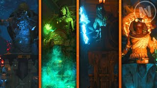 All Dead Of The Night Perk Locations! (Call of Duty Black Ops 4 Zombies DLC 1)