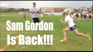 Sam Gordon Girl Football Player:  She's Back!!!
