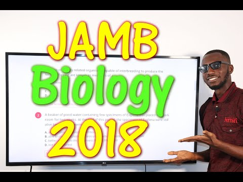 JAMB CBT Biology 2018 Past Questions 1 - 20