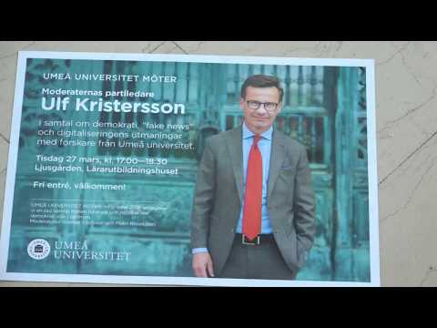 Umeå universitet möter Ulf Kristersson