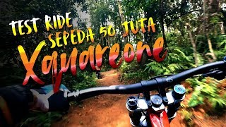 Fun Ride Cikole Bandung dengan Sepeda Polygon Xquareone DH8