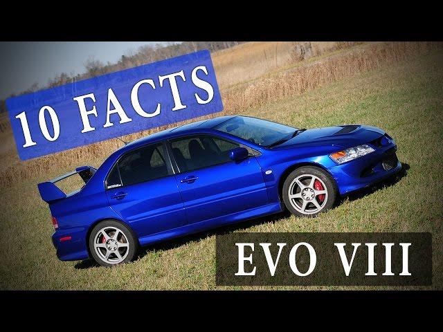 10 Facts // Mitsubishi Lancer Evolution VIII 8