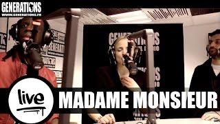 Madame Monsieur & Youssoupha - Tournera (Live des studios de Generations)