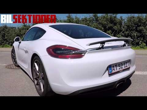 Porsche Cayman - Den bedste sportsvogn?