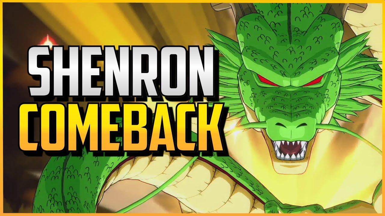 Xuses - DBFZ ▰ Wow. An Actual High Level Shenron Comeback!【Dragon Ball FighterZ】