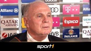 So hart trafen Hoeneß die Fan-Attacken | SPORT1