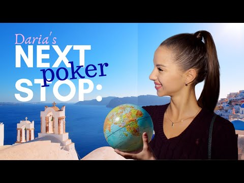 """888's """"New Girl"""" Daria is Looking Forward to Playing Poker WHERE""""!""""!"""