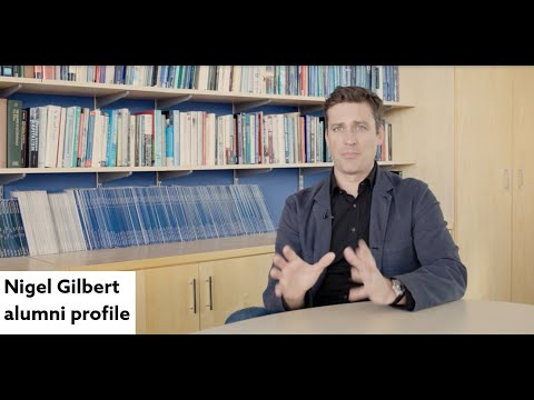 Is a placement year important at University? Nigel Gilbert alumni profile