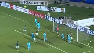 Goles Palmeiras 2 Sporting Cristal 1 Copa Libertadores 2013