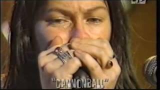 Breeders - 1-Cannonball (live MTV studios 09oct93)
