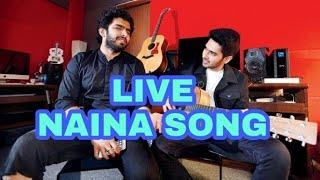 Armaan & Amaal Malik Live || Singing || Naina - Khoobsurat