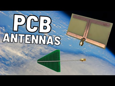 PCB Antennas for Ham Radio   1296 MHz and Above