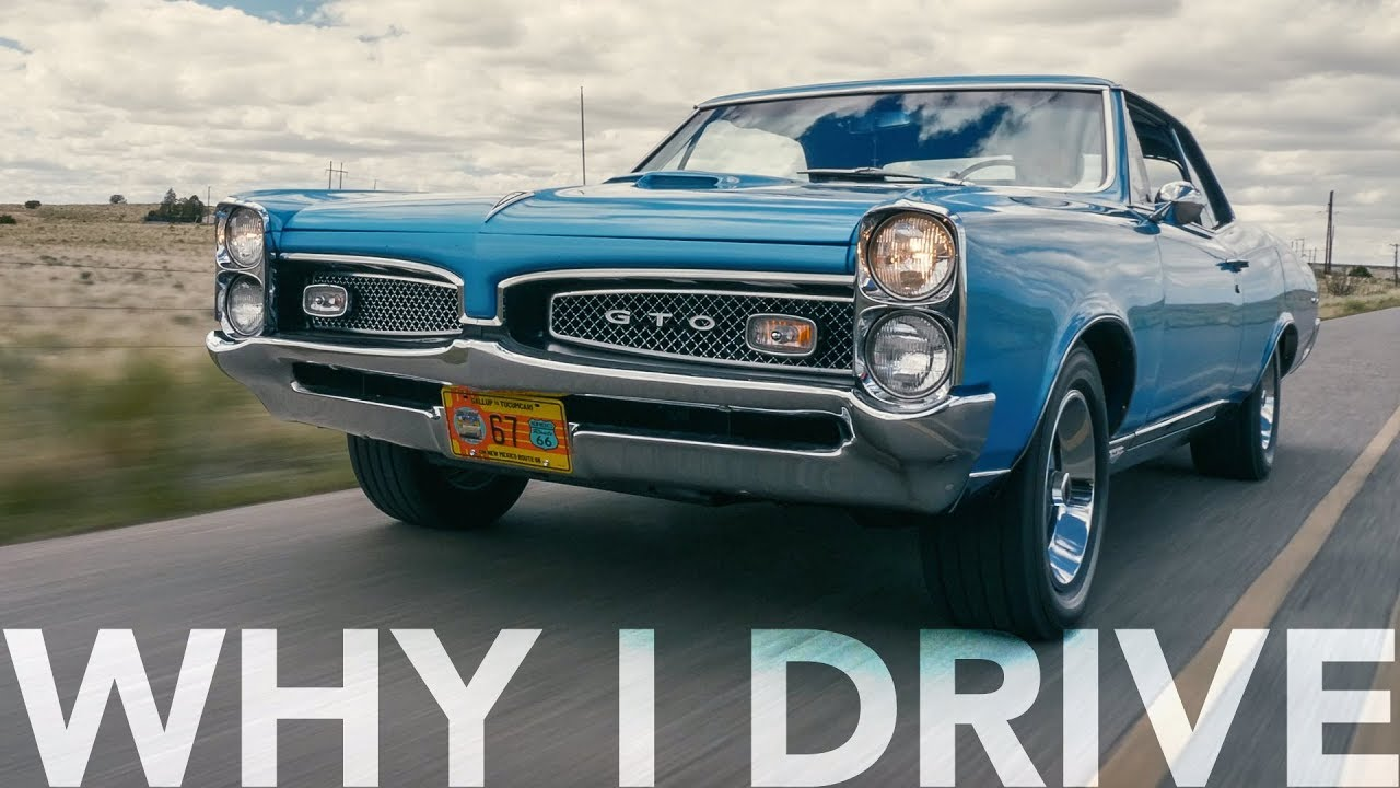 This 1967 Pontiac GTO was born for Route 66
