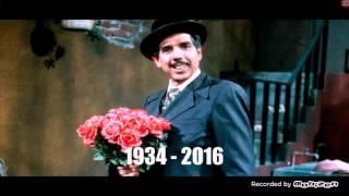 Descanse en paz - Ruben Aguirre (profesor jirafales) 1934 - 2016