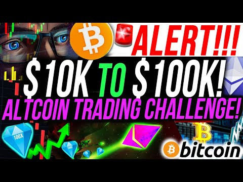 ALERT!!🚨 ,000 to 0,000 ALTCOIN TRADING CHALLENGE!!!! I INVESTED IN A NEW ALTCOIN!!! PART 3