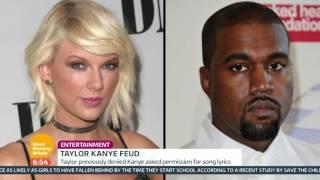 Taylor Swift vs Kanye West | Good Morning Britain
