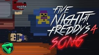 FIVE NIGHTS AT FREDDY'S 4 SONG By iTownGamePlay (Canción) FNAF 4
