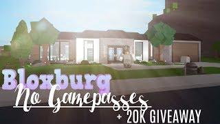 Roblox House Build 1 Story Roblox Bloxburg 1 Story House