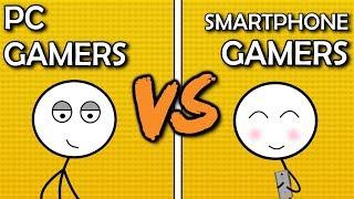 PC Gamers VS Smartphone Gamers