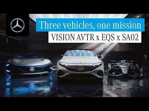 EQS, Vision AVTR, Silver Arrow 02 – Technological Curiosity Explained