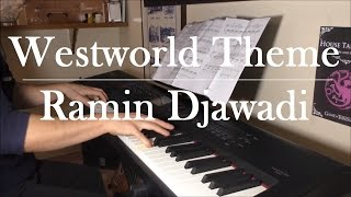"""Westworld - """"Main Title Theme"""" (Piano Cover & Sheet)"""