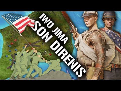 Iwo Jima Muharebesi (1945) || 2.DÜNYA SAVAŞI || DFT Tarih Belgesel