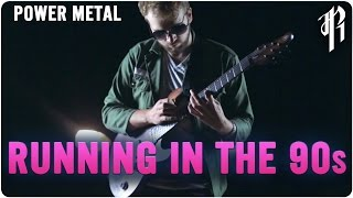 Running in the 90's || POWER METAL COVER by RichaadEB, Jonathan Young & FamilyJules