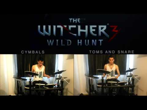 miracle-of-sound-wake-the-white-wolf-witcher-3-drum-cover-hq-hd-johan-alves-duarte