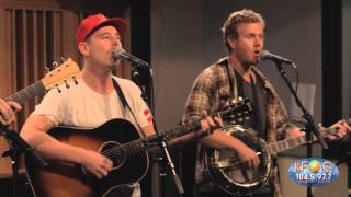 Boy & Bear - Old Town Blues (Live on KFOG Radio)