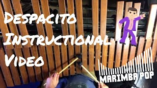 Despacito - Marimba Pop Instructional Video