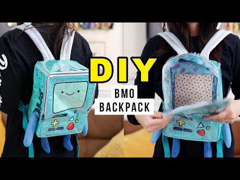I Upcycled My Plushie Into A Backpack! | Sewing with @coolirpa