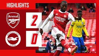HIGHLIGHTS   Arsenal vs Brighton (2-0)   Premier League   Pepe on fire