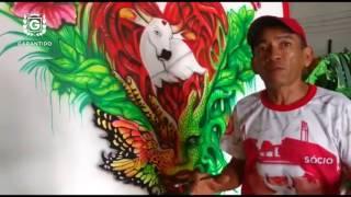 Alma de artista: Agostinho Belém reafirma que o Garantido está pronto para a festa.