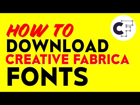 How To DOWNLOAD and INSTALL Creative Fabrica Fonts – Free & Easy Fonts For Commercial Use