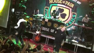 House Of Pain - Jump Around (live in Moscow 07.06.2017)