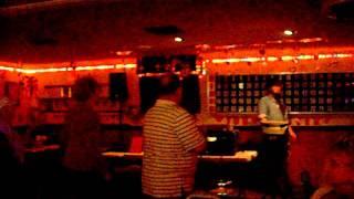 "Stan singing "" The Wanderer "" Karaoke"