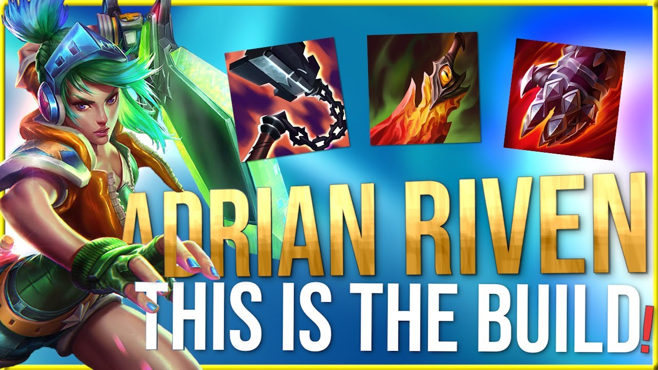 1Adrianaries1 - ADRIAN RIVEN - This build feels good!