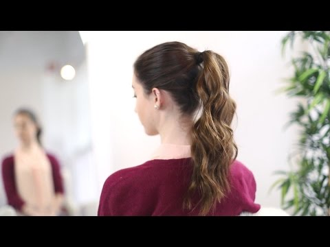 How to make a double pony tail