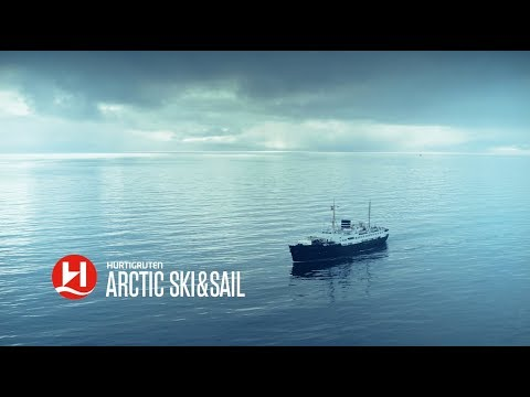 Hurtigruten Artic ski and sail